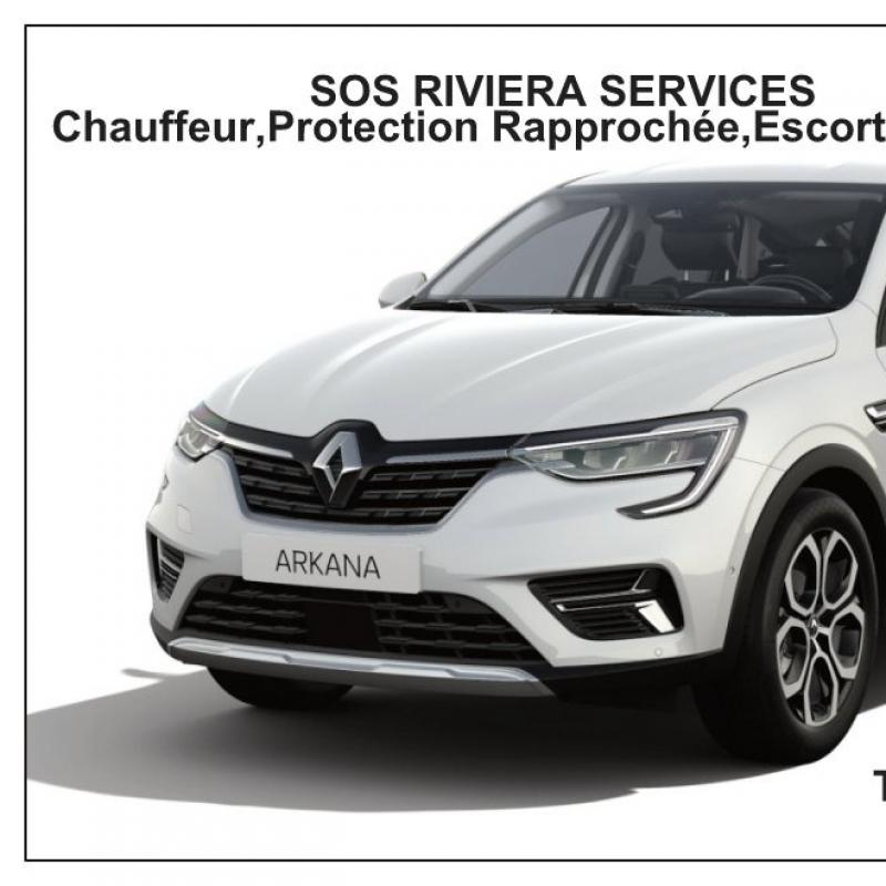 Photo de profil pour le VTC SOS RIVIERA SERVICES à Roquebrune-sur-Argens