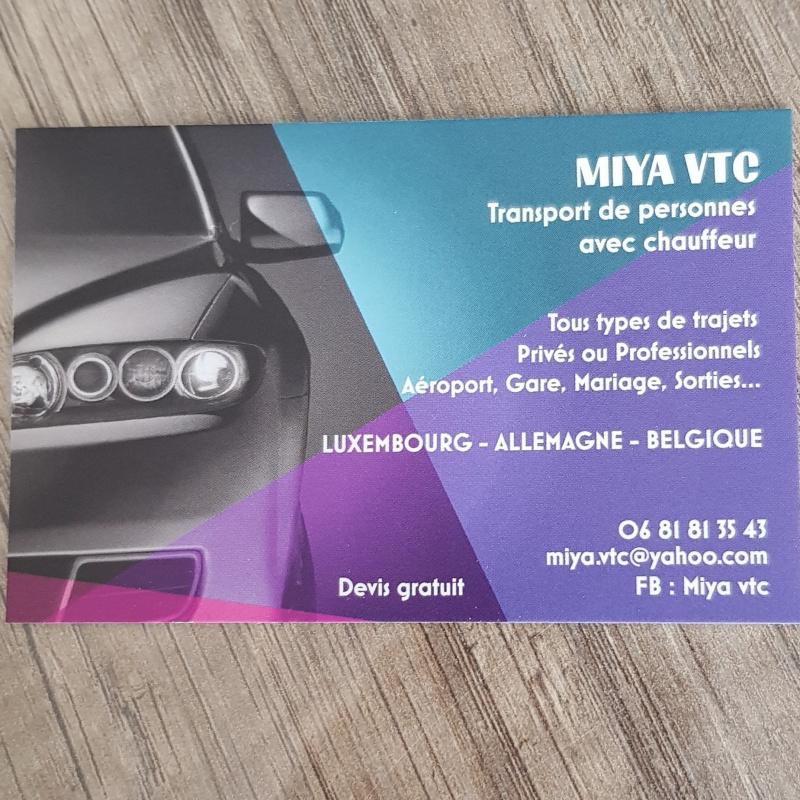 Photo de profil pour le VTC MIYA VTC à Metz