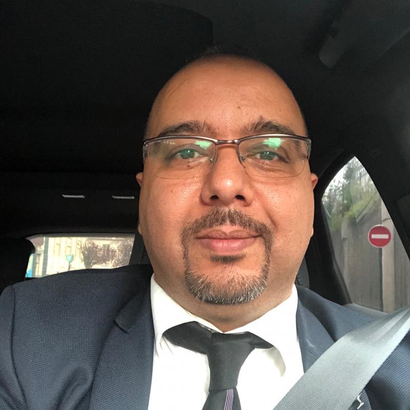 Photo de profil pour le VTC Sahim soufiane à Évry-Courcouronnes
