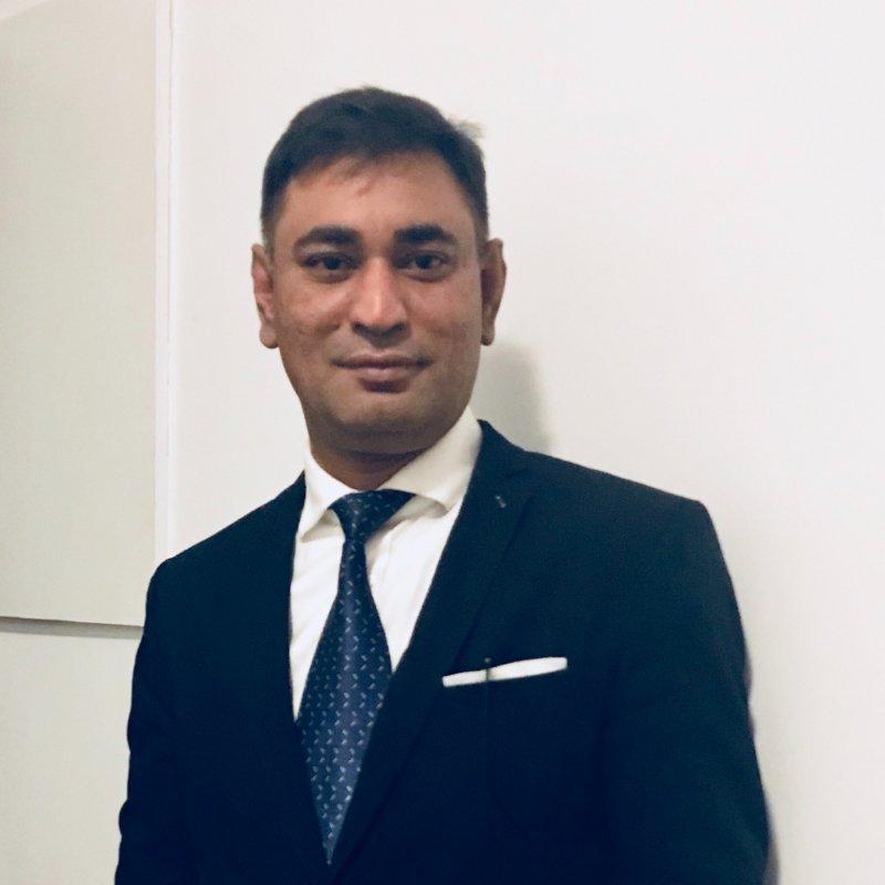 Photo de profil pour le VTC Bokhtiar Hussain Shamim à Paris